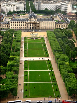 Ecole Militaire View From The Eiffel Tower - A. Hromish