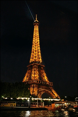 Eiffel Tower by Anita Hromish