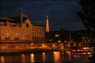 Musee d'Orsay at Night -A.Hromish
