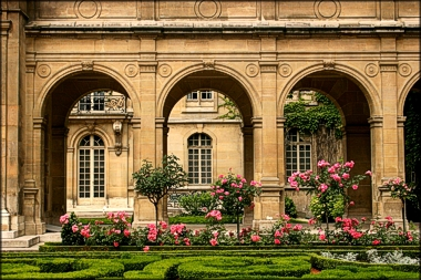 Rose Garden, le Marais, Paris - photo by Anita Hromish